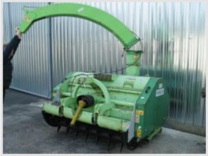 Машина за мулчиране на клони при резитба на овощни дървета