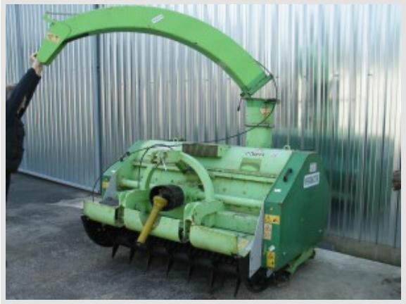 Peruzzo Машина за мулчиране на клони при резитба на овощни дървета