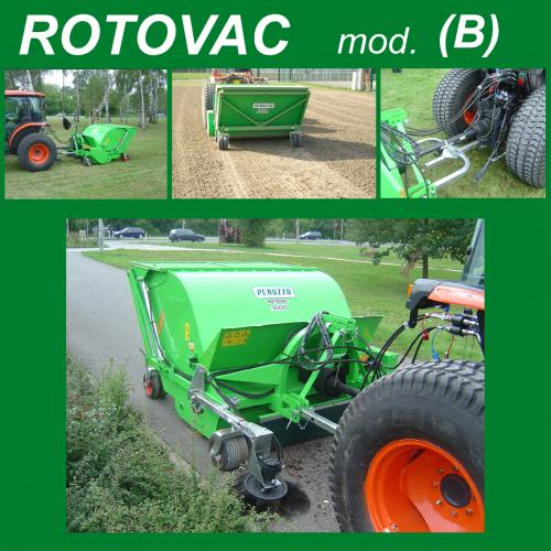 Peruzzo Метящ събирач на отпадъци ROTOVAC 1600