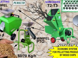 Pelletting machine PERUZZO mod. MINIPEL catalogo_502