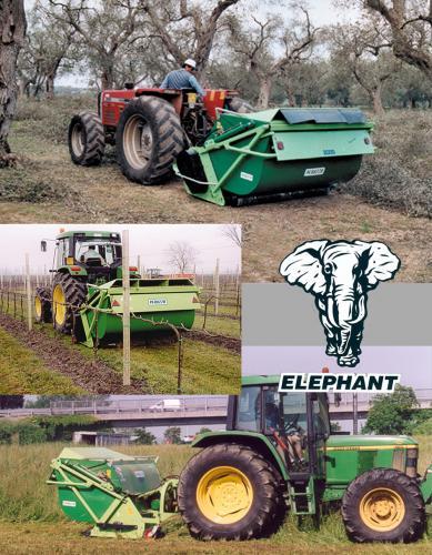 Peruzzo Центробежен шредер с колектор ELEPHANT