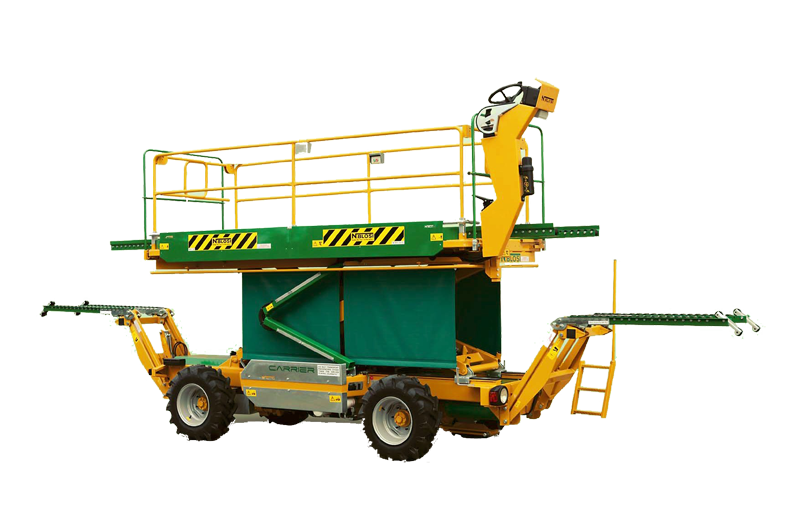 N Blosi Carrier – Самоходна платформа за беритба и резитба на овошки