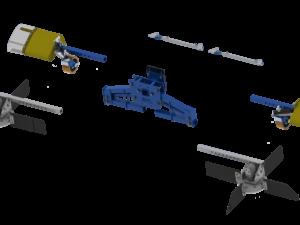 KWH Holland - Комбинирана машина за почистване и събиране на остатъци при резитба и вътрередова пръскачка в едно 54-1127-full