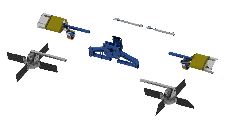 KWH Holland – Комбинирана машина за почистване и събиране на остатъци при резитба и вътрередова пръскачка в едно