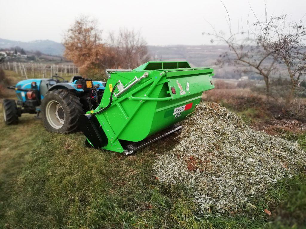 Мулчер за трева и клони с бункер марка Peruzzo модел CANGURO PROFESSIONAL SUPER