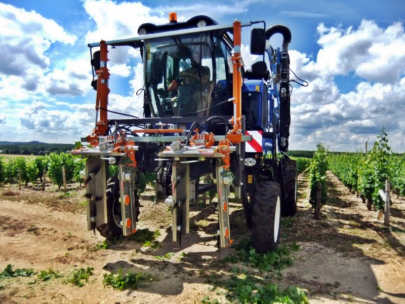 Тримери за гроздокомбайни и трактори с голям просвет CoupEco Viti NAOTEC MODUL RE